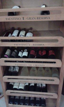 Hotel Principe Felipe: Vinos de sala comedor