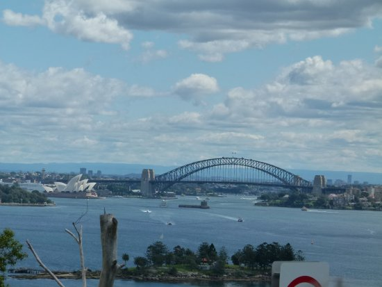 Maroubra, ออสเตรเลีย: View from the top deck - Bondi Tour