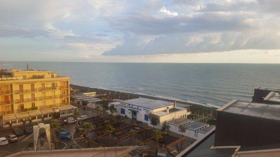 Hotel Villa Margherita: Blick aus unserem Zimmer,wir haben diesen Blick sehr gemocht