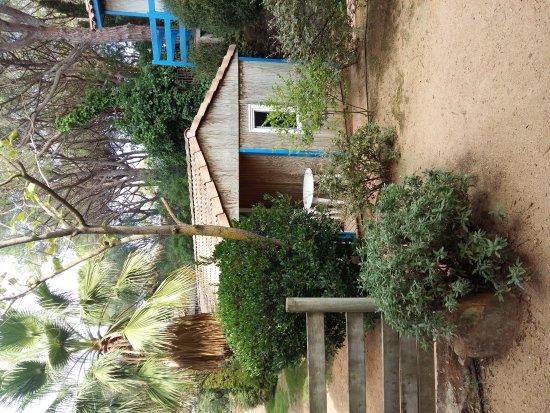 Camping Sant Pol Yelloh! Village: Bungalodge & Camping Sant Pol