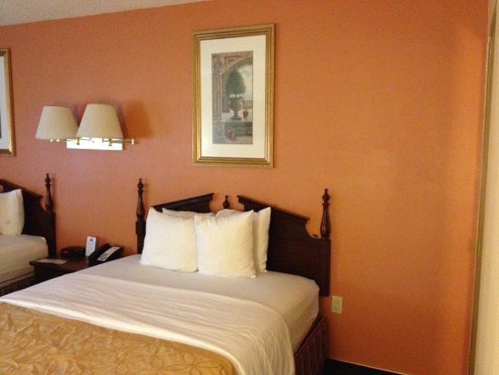 Days Inn & Suites by Wyndham Red Rock-Gallup: beds, two queen, comfy and clean