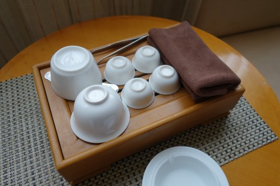 Xiamen Airlines Hotel: Tea making facilities