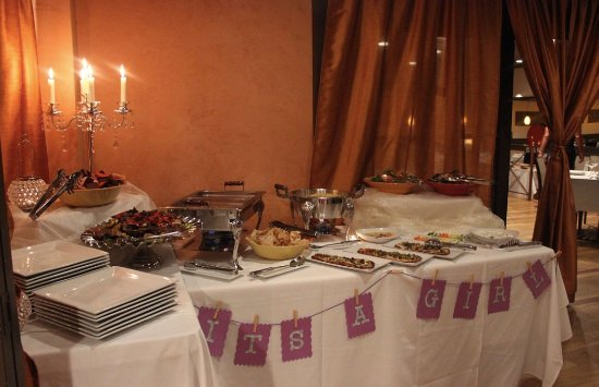Westwood, NJ : Lunch Buffet for a small baby shower