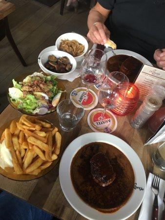 Loetje Overveen: Uitgebreide lunch ❤️