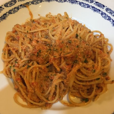 Ristorante La Siciliana: Spaghetti con uova di pesce spada