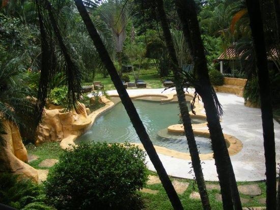 Bungalows Malu: Vista desde el balcón de la habitación.