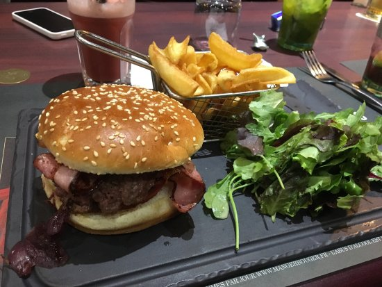 Hamburger classique photo de au bureau villars tripadvisor