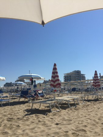 Spiaggia 60 Riccione: Spiaggia deserta