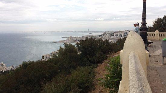 Algiers, Algeria: Looking east.