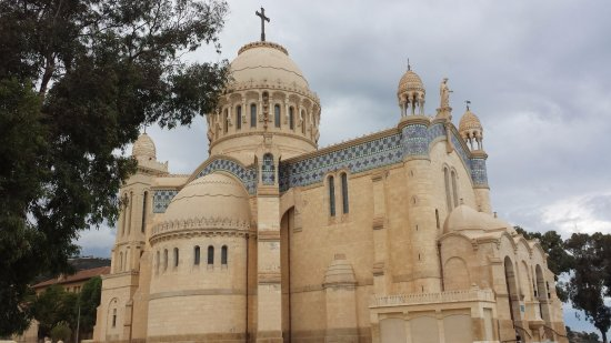 Algiers, Algeria: Notre Dame d'Afrique
