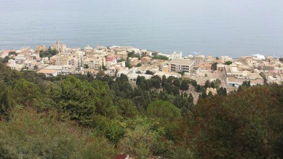 Algiers, Algeria: Notre Dame d'Afrique ocean view