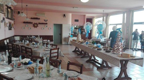 Coreglia Antelminelli, Italy: Allestito per il Battesimo