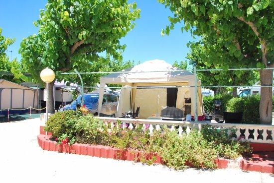 Bungalows Camping Eden : Parcela Del Camping Eden En Peñiscola.