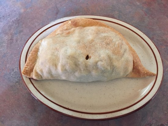 Joe's Pasty Shop: This is a traditional pasty.