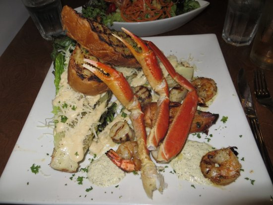 North Sydney, Canada: Seafood Salad