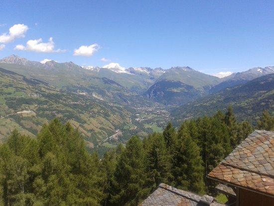 Les Coches, Francia: vue du balcon