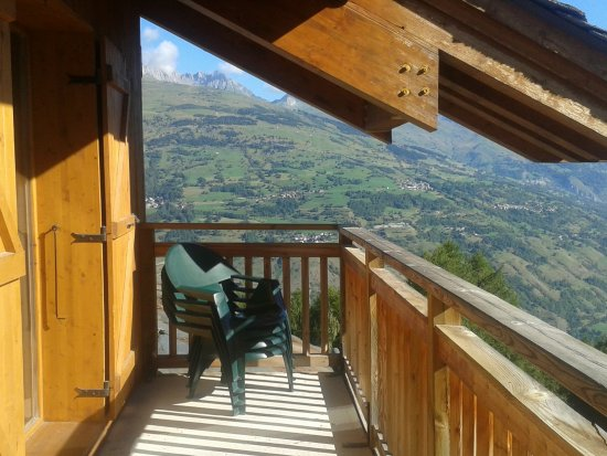Les Coches, Francia: balcon spacieux