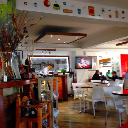 Cafe de las Artes: dependencias del cafe