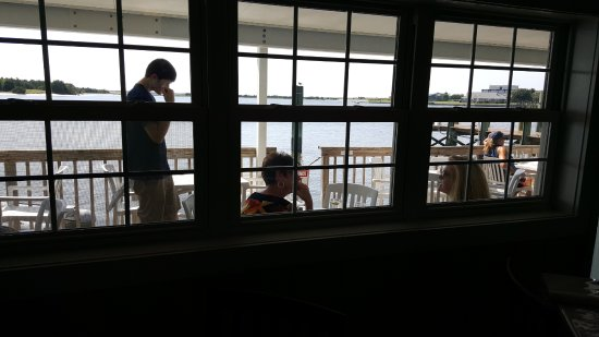 Beaufort, NC: Sound and the deck from the ining room