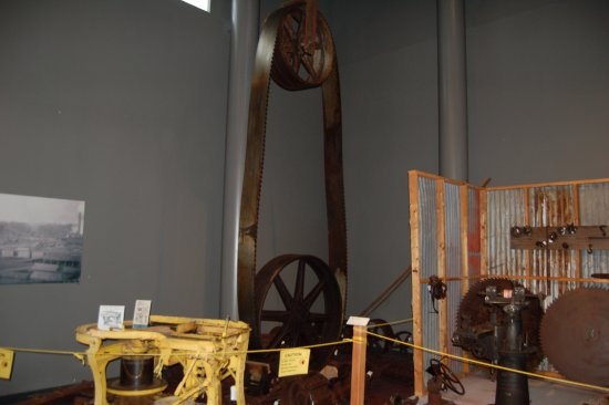 Wedell-Williams Memorial Aviation & Cypress Sawmill Museum: Cypress Sawmill side