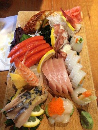 Opa Sushi : large sashimi platter