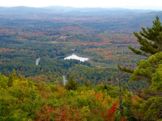 Whitefield, NH : View from the top, October 2