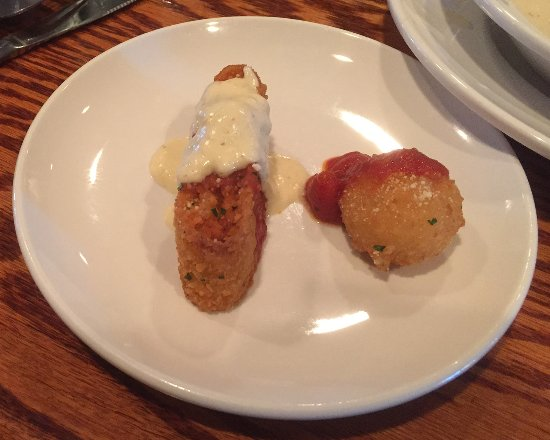 Olive Garden Roseville Mn Lasagna Fritta And Crispy Risotto Appetizers Picture Of Olive