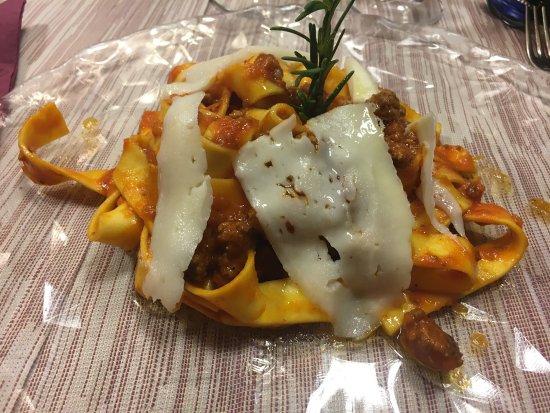 Pappardelle al ragù di lepre - Bild von Ristorante Pizzeria La ...