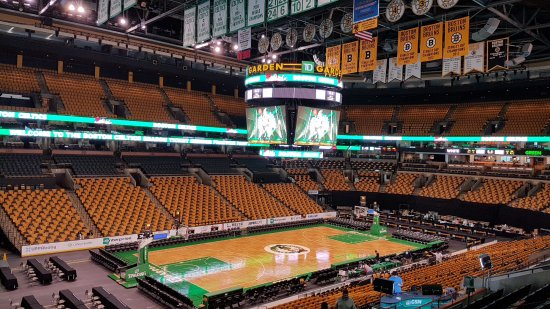 TD Garden Tour Pictures Gallery