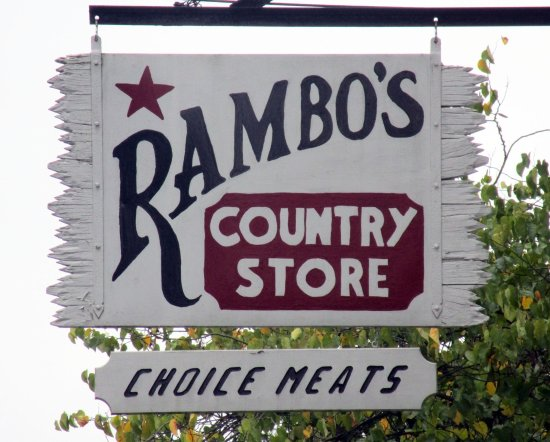 Califon, NJ: Rambo's Country Store
