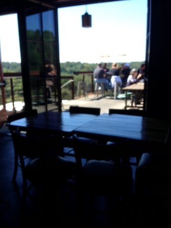 Saxapahaw, Carolina del Norte: Outdoor seating