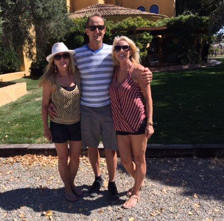 Santa Barbara, CA: Big Bird Matt and the sisters ;)