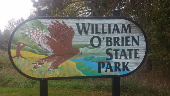 William O'Brien State Park : A nice welcome