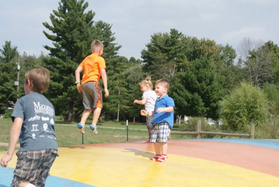 South Bend, IN: Kids love this Jumping Mound!