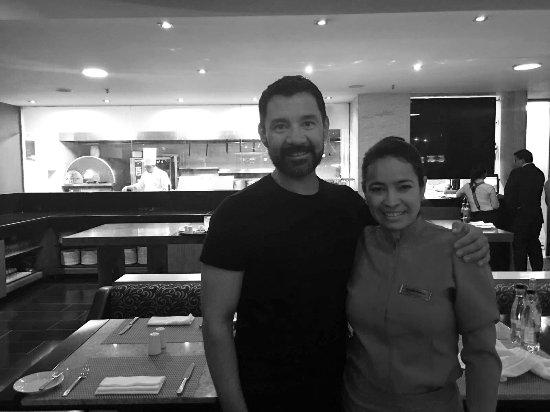 Hilton Bogota: Best Waitress in Colombia