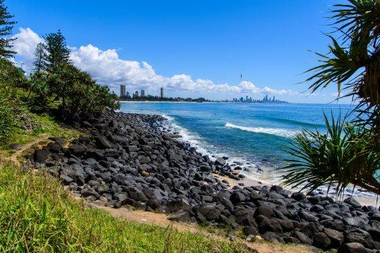 Burleigh Heads, Australia: Great views south towards Surfers Paradise
