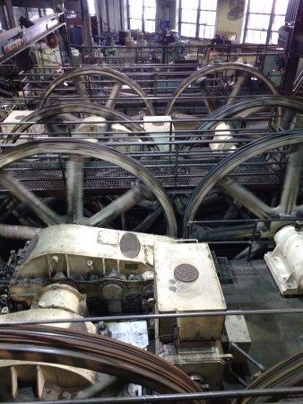 San Francisco Railway Museum: Vista interior