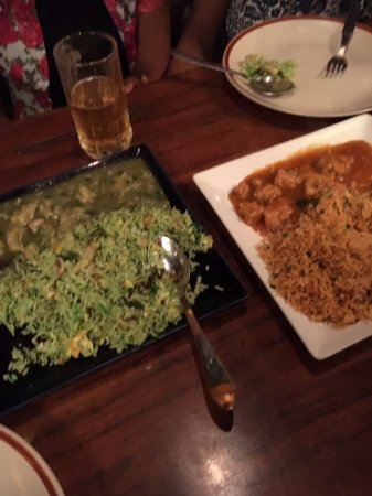 10 Downing Street: Thai cuisine green and red curries