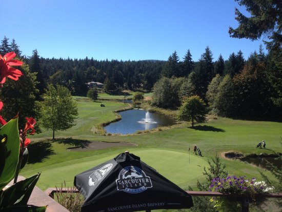 Fairwinds Golf Club: Vue du restaurant...