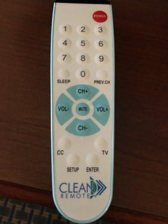 "West Hazleton, PA: The dreaded ""Clean Remote"""