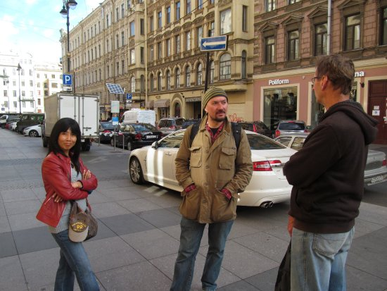 Anglo Tourismo Boat and Walking Tours: The friendly face of Mike our tour guide