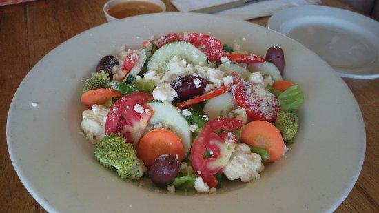 Blue Moon Restaurant: Veggie Salad