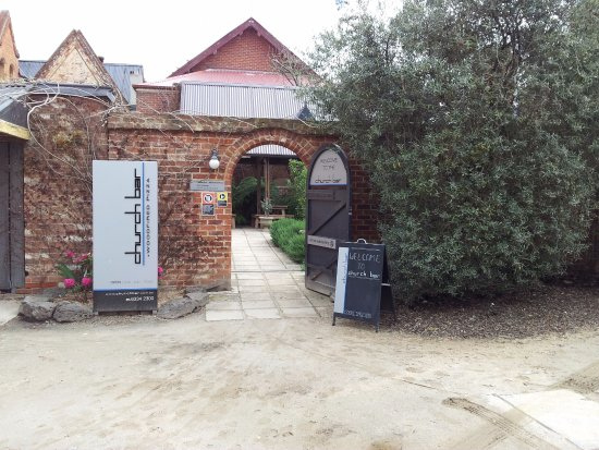The Church Bar & Woodfired Pizza: Entrance