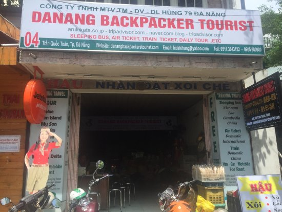 Danang Backpacker Tourist
