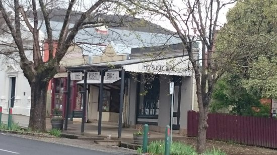 Yackandandah, Australia: The Rusty Bike Cafe