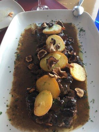 Alcala del Valle, Spania: Espectacular cocina en calidad precio ya que es creativa y muy buena en sabor y q decir del serv