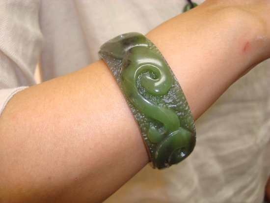Yoshikawa, Japan: closeup of the bracelet