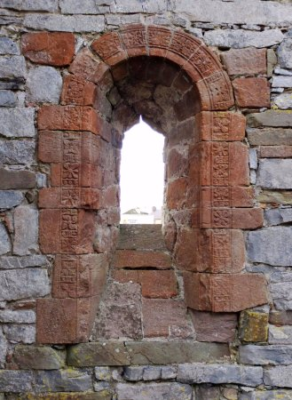Ardfert Cathedral - window detail