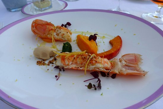 Hotel du Cap Eden-Roc: Shrimps