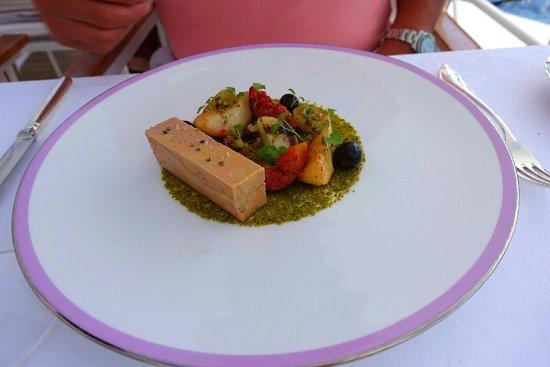Hotel du Cap Eden-Roc: Fois gras  really good